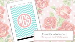 Monogram It Custom Wallpapers complete set screenshot 6/6