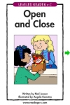Open and Close - LAZ Reader [Level Ckindergarten] screenshot 1/1