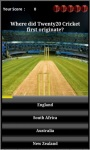 Android Cricket Quiz screenshot 2/4