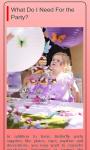 Party Ideas For Girls screenshot 1/1