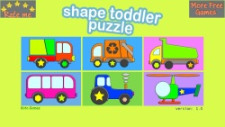 Shape Toddler Puzzle screenshot 1/4