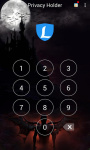 AppLock Theme Vampire FullMoon screenshot 1/3