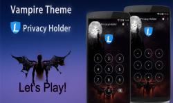 AppLock Theme Vampire FullMoon screenshot 3/3
