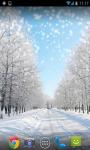 Snow Winter Live Wallpaper screenshot 1/6