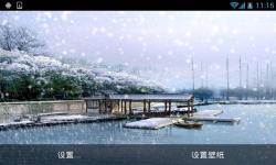 Snow Winter Live Wallpaper screenshot 6/6