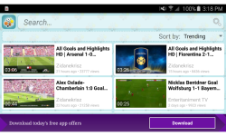 Sport Video Search and Watch screenshot 3/4