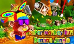 Super Monkey Run Banana Jungle screenshot 1/6