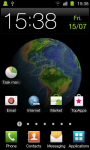 Planet Earth 3D Live Wallpaper screenshot 6/6