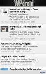 WPdroid screenshot 2/3