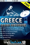 Greece Radio Recorder Free screenshot 1/1