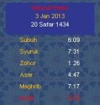 My Solat 2013 screenshot 2/3