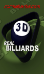 Real Billiards 3d screenshot 1/1