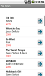 Most Popular Top Songs screenshot 1/4