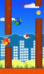 two Flappy birds screenshot 1/4