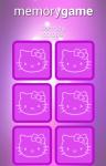 Hello Kitty Memory Classic Game screenshot 2/2