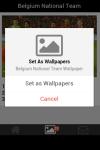 Belgium Soccer Team Wallpaper screenshot 5/5