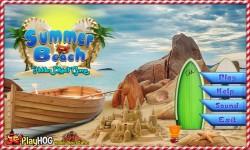 Free Hidden Object Game - Summer Beach screenshot 1/4
