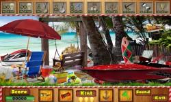 Free Hidden Object Game - Summer Beach screenshot 3/4