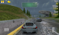 Highway Racer vs Police Cars screenshot 3/5