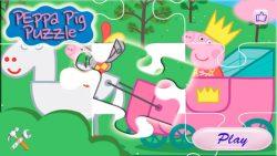 Peppa's puzzle screenshot 1/6