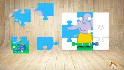 Peppa's puzzle screenshot 4/6