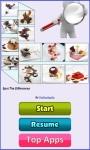 Find Differences Dessert screenshot 1/4
