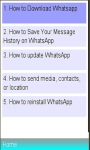 WhatsApp Wizard / Installation screenshot 1/1
