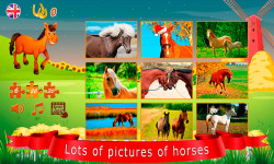 Puzzles about horses screenshot 2/6