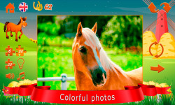 Puzzles about horses screenshot 4/6