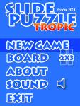 Slide Puzzle Tropic_xFree screenshot 3/6