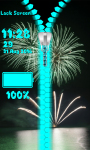 New Year Zipper Lock Screen Best screenshot 6/6