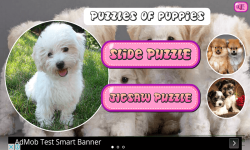 Puzzles of Puppies Free screenshot 1/6