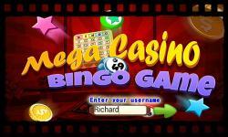 Bingo Mega Casino screenshot 1/6