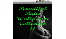 Beautiful Butts Wallpapers Col transparent screenshot 1/3