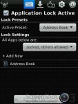 Lock for Address Book screenshot 2/3