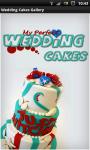 Wedding Cakes Gallery HD screenshot 1/6
