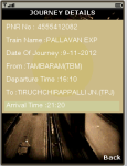 PNR Status Enquiry screenshot 3/5