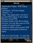 PNR Status Enquiry screenshot 5/5
