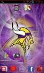Minnesota Vikings NFL Live Wallpaper screenshot 2/3