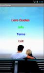 Love quotations screenshot 2/3