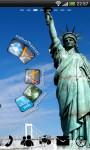 USA Statue Liberty GoLauncher screenshot 1/5