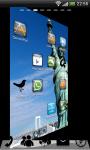 USA Statue Liberty GoLauncher screenshot 2/5