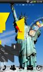USA Statue Liberty GoLauncher screenshot 3/5