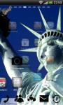USA Statue Liberty GoLauncher screenshot 5/5