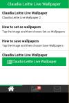 Claudia Leitte Live Wallpaper screenshot 2/6