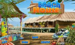 Free Hidden Object Games - Beach House screenshot 1/4
