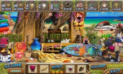 Free Hidden Object Games - Beach House screenshot 3/4
