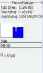 Memory file manager screenshot 1/4