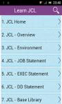 Learn JCL screenshot 1/3