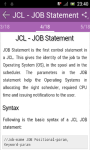 Learn JCL screenshot 3/3